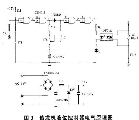 b板上由单结晶体管组成的张弛震荡器停振,双向可控硅关断,停止加浆.