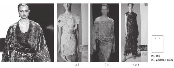 而面料的缺陷肌理设计更好的贴合了人们对于服装的